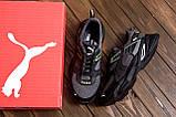 Мужские летние кроссовки сетка Puma, фото 10