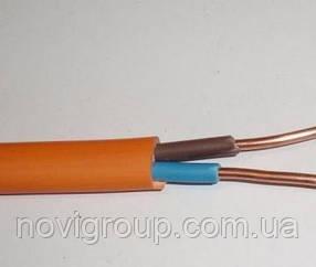 Кабель ВВГп нгд-2  2*1,5 цена за метр бухта 100 м. многожилка/ цвет оранж