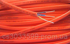 Кабель ВВГ-П-2нг LS 2*2,5 цена за метр бухта 100 м. многопроволочный / цвет оранж