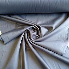Сатин серый ширина 240 см. №38 (Турция)