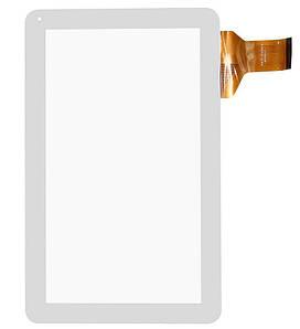 Сенсор (Тачскрин) для планшета GoClever Terra 101 (257x159mm) 50pin (Белый) Оригинал Китай