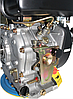 Двигун дизель.GrunWelt GW186FВ +БЕЗКОШТОВНА ДОСТАВКА! (9,5 л. с., шпонка), фото 10