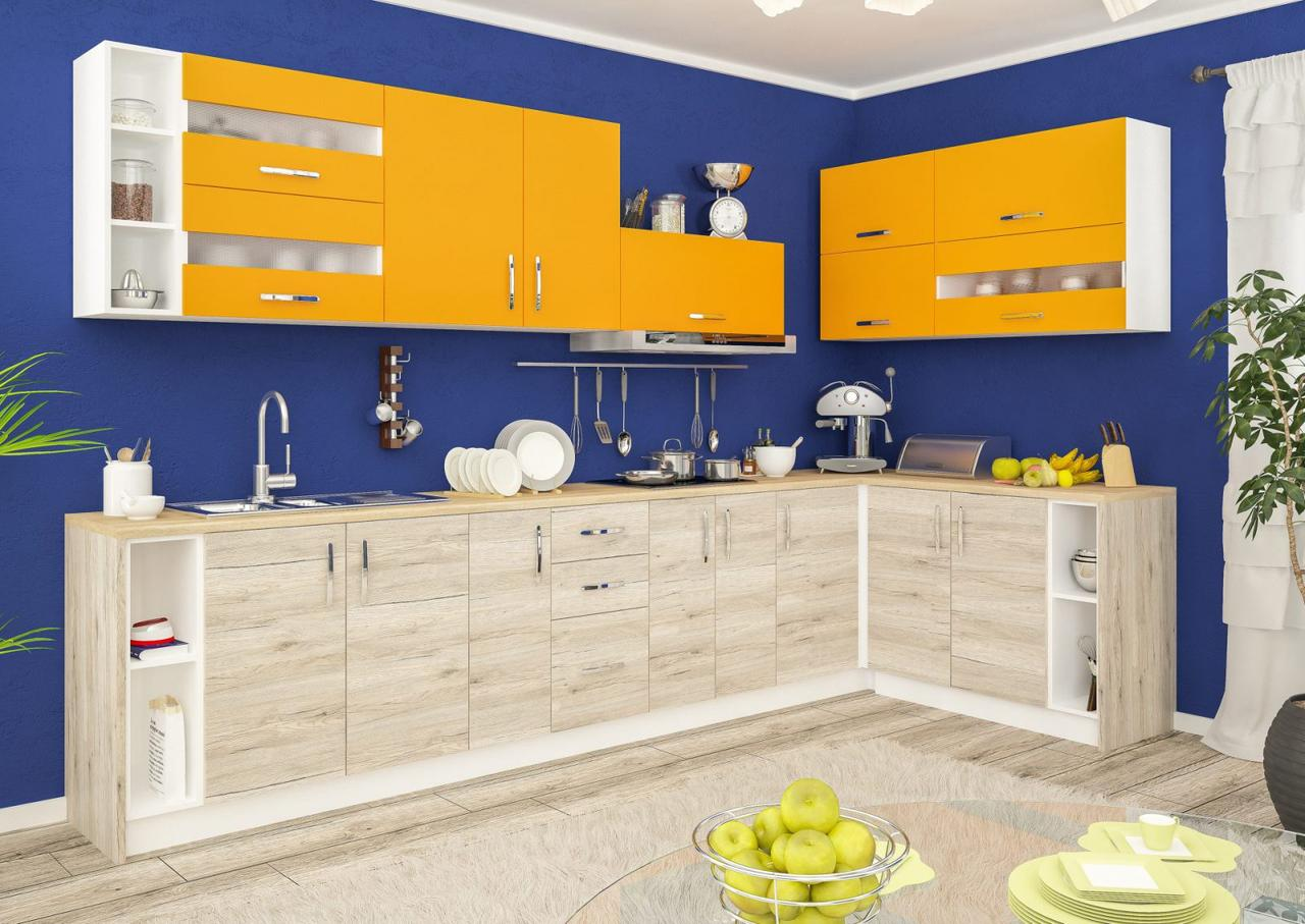Кухня Гамма ДСП Мебель Сервис