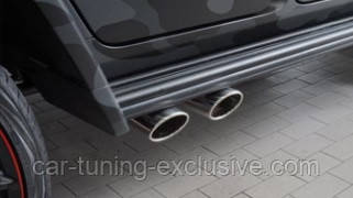 MANSORY sport exhaust with tips for Mercedes G-class