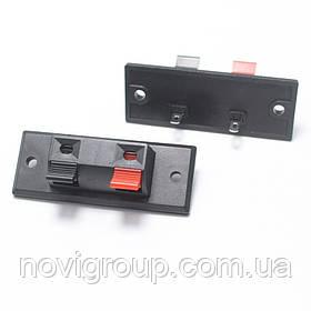 Затиск 2-pin JR6251A для динаміка розмір панелі 45 x 21 мм