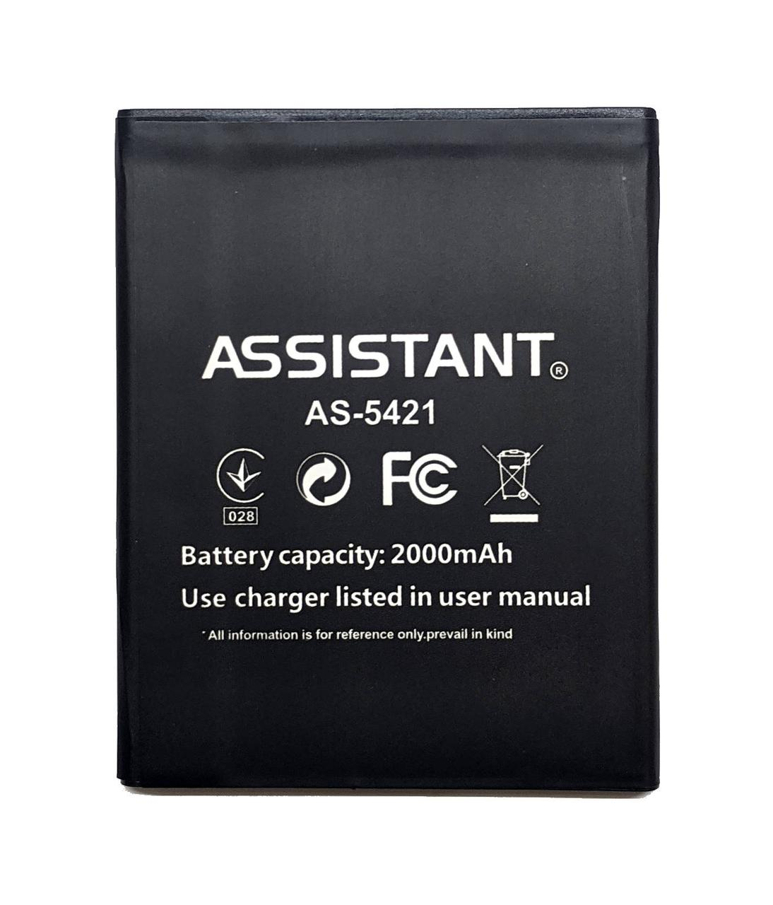 Assistant AS-5421 Аккумулятор Батарея