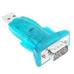 Адаптер USB to RS-232 Converter (9 pin), Blister