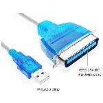 Кабель / перехідник USB - >LPT Bitronix, 1.5 m, Blister