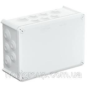 Коробка розподільна зовнішня Т350 285Х201Х120 IP66 OBO Bettermann колір білий