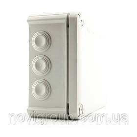 Коробка розподільна зовнішня Т160 190Х150Х77 IP66 OBO Bettermann колір білий