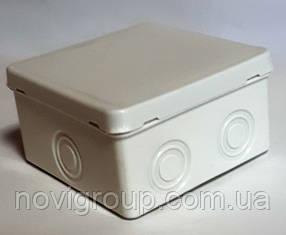 Коробка розподільна зовнішня 94x94 колір білий