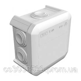 Коробка розподільна зовнішня Т40 90х90х52 IP66 OBO Bettermann колір білий