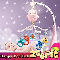 Подвеска Мобиль для малыша (на кроватку) Happy Bed Bell Детская Музыкальная Карусель