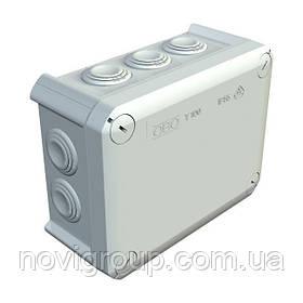 Коробка розподільна зовнішня Т100 151x117x67 IP66 OBO Bettermann колір білий