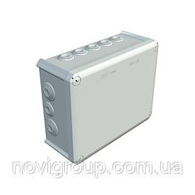 Коробка розподільна зовнішня Т250 240х190х95 OBO Bettermann колір білий