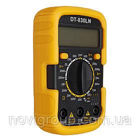 Мультиметр DT-830LN Вимірювання: V, A, R (124*105*43) 0,25 кг (100*65*32)
