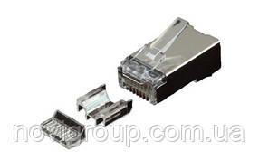 Конектор OK-net utp RJ-45 Кат.6 FTP, 50U з двома вставками упаковка 100 шт. ціна вказана за шт.