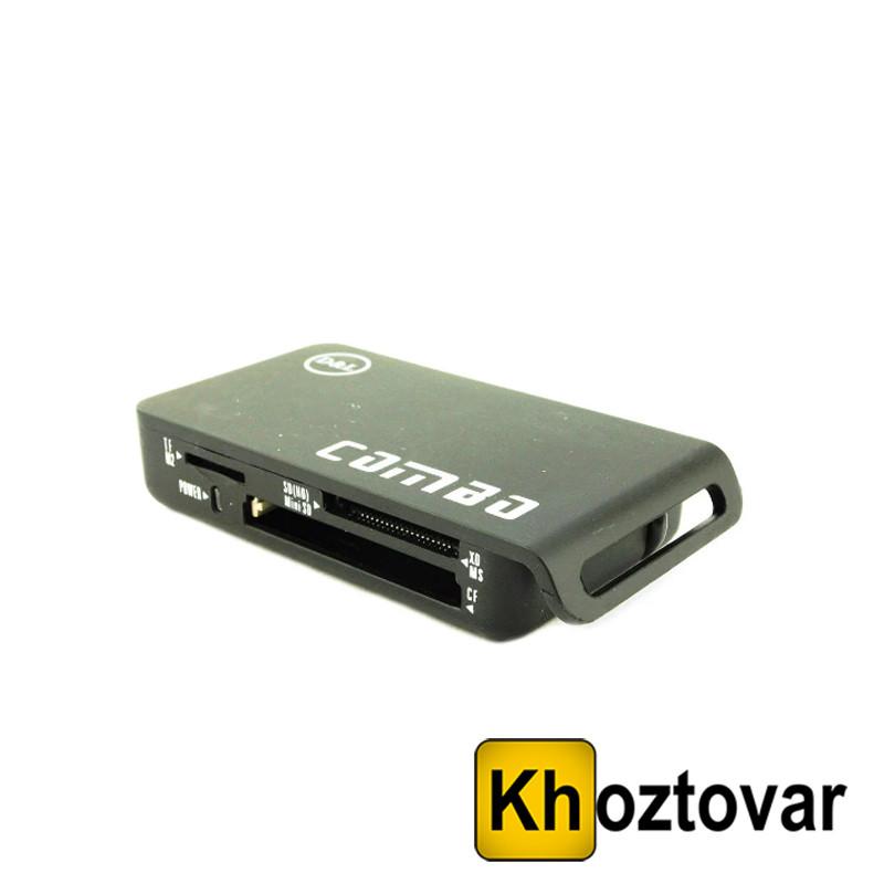 Картридер USB HUB Combo KR-0515