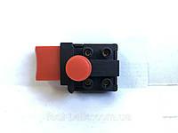 Кнопка для циркулярной пилы с без фиксации с защитой от включения
