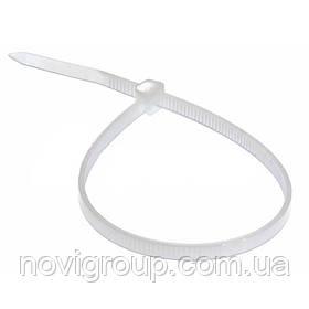 Стяжки нейлон RITAR 5,0x300mm білі (100 шт) висока якість, діапазон робочих температур: від -45С до + 80С Q60