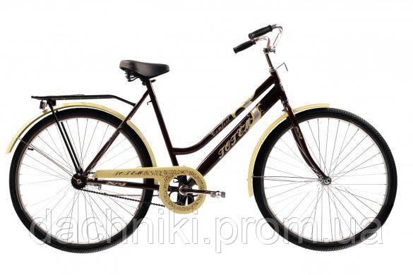 """Велосипед Сrossride Comfort D 28"""" Коричневый (Т0928)"""