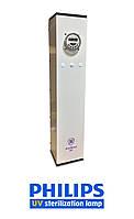 Рециркулятор бактерицидный безозоновый с таймером (Вертикальное Исполнение) - AntiBact Air (AAV-15-2)