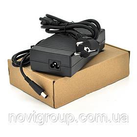 Блок живлення MERLION для ноутбука DELL 19.5 V 7.7 A (150 Вт) штекер 7.4 * 5.0 мм, довжина 0,9 м + кабель живлення