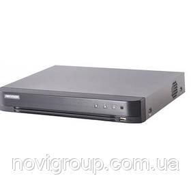 16-канальний Turbo HD відеореєстратор c підтримкою аудіо по коаксіалі DS-7216HQHI-K1 (S)