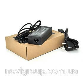 Блок живлення MERLION для ноутбукa HP 18.5V 3.5A (65 Вт) штекер 4,8 * 1,7 мм, довжина 0,9 м + кабель живлення