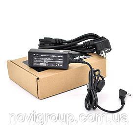Блок живлення MERLION для ноутбука ASUS 19V 2.37 A (45 Вт) штекер 4.0 * 1.35 мм, довжина 0,9 м + кабель живлення