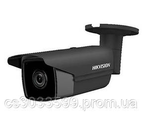4МП циліндрична камера чорного кольору з SD картою Hikvision DS-2CD2T43G0-I8 BLACK (2.8 ММ)