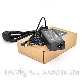 Блок живлення MERLION для ноутбука ASUS 19V 3.42 A (65 Вт) штекер 5.5 * 2.5 мм, довжина 0,9 м + кабель живлення