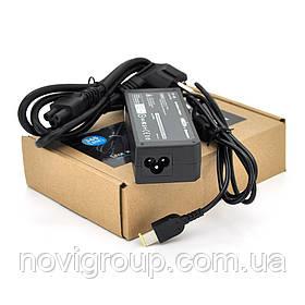 Блок живлення MERLION для ноутбука LENOVO 20V 4,5A (90 Вт) штекер FOR YOGA, довжина 0,9 м + кабель живлення