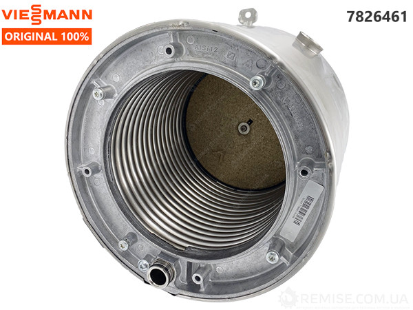 Теплообменник Viessmann Vitodens WB1B, WB1C, WB2B, WB2C 26-35 кВт. - 7826461