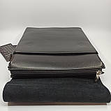 Шкіряна чоловіча сумка через плече / Мужская кожаная сумка через плечо Polo, фото 6