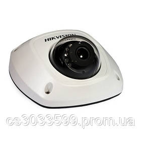 ¶2 Мп міні-купольна з SD картою відеокамера EXIR Hikvision DS-2CD2523G0-IS (2,8 мм)