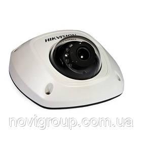 ¶2 Мп міні-купольна з SD картою відеокамера EXIR Hikvision DS-2CD2523G0-IWS (2,8 мм)
