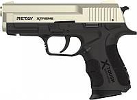 Пистолет стартовый Retay XTreme, 9мм. satin (T570700S), фото 1