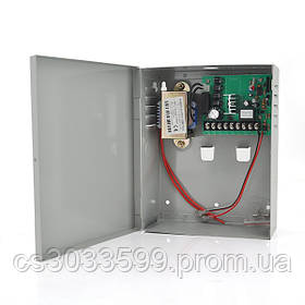 Імпульсне джерело безперебійного живлення PSU-1018-10А 12V 10А, під АКБ 12V 7-10A, Metal Box Q10