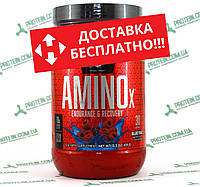 Аминокислоты USA ORIGINAL!!! BSN Amino X 435 г Blue Raz Ежевика