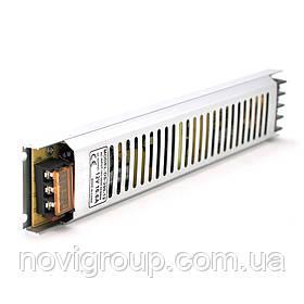 Імпульсний блок живлення 12В 16.6А (200Вт) перфорований SLIM