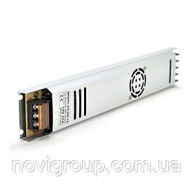 Імпульсний блок живлення 12В 25А (300Вт) перфорований SLIM