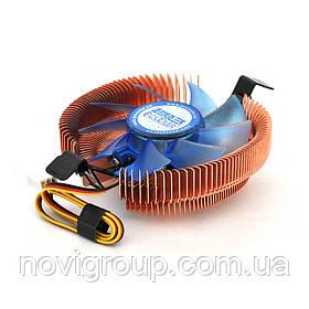 Кулер процесорний Pccooler Firebird SPA-801 для Intel LGA 115X / 775, AMD AM2, 3-pin, 2500 RPM ± 10%, BOX