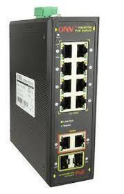 ¶8ми портовий PoE комутатор ONV-IPS31108PFB, 8 портів РоЕ 100 Мбіт + 2 порту 1000 Мбіт + 2 SFP порту 1000 Мбіт