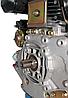 Двигатель дизель.GrunWelt GW186FВE +БЕСПЛАТНАЯ ДОСТАВКА! (9,5 л.с., шлицы, электростартер), фото 8