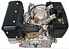 Двигатель дизель.GrunWelt GW186FВE +БЕСПЛАТНАЯ ДОСТАВКА! (9,5 л.с., шлицы, электростартер), фото 9