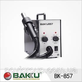 Термоповітряний ремонтна паяльна станція BAKKU BK-857, фен (305*232*175) 2,4 кг