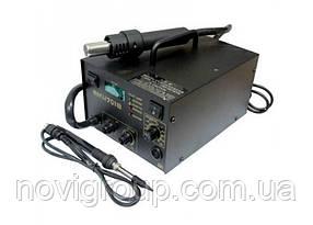Паяльна станція BAKKU BK-701B цифрова індикація, фен, паяльник  (335*280*200) 4,29 кг