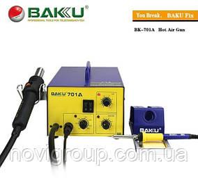 Паяльна станція BAKKU BK-701А фен, паяльник (323*267*190) 4,29 кг