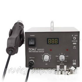 Паяльна станція BAKKU BA-8850D  цифрова індикація, фен, паяльник